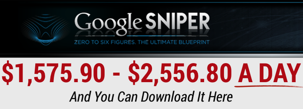 Google Sniper Income Proof