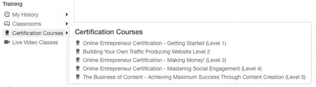 Wealthy Affiliate University - Certification Courses