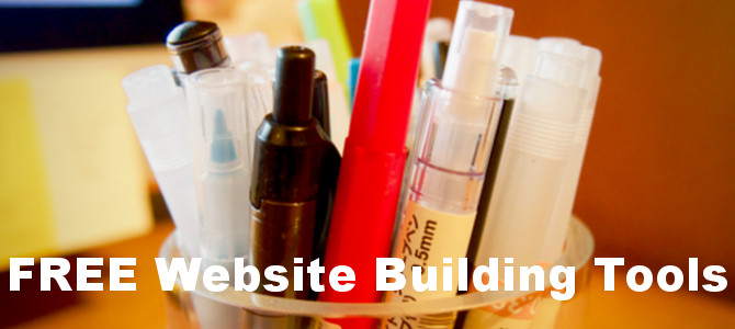 Free Website Building Tools – Best Tool List