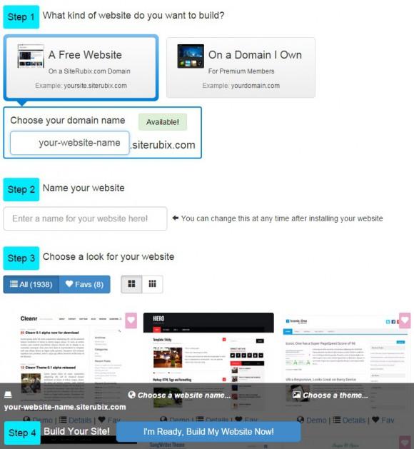 SiteRubix Domain Setup