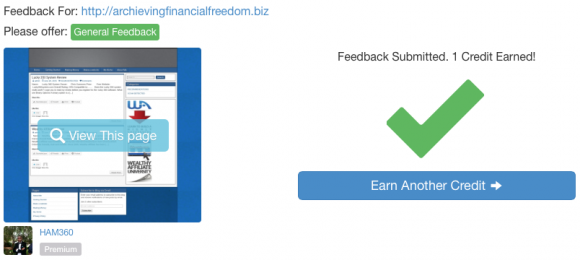 What is Site Feedback - 5