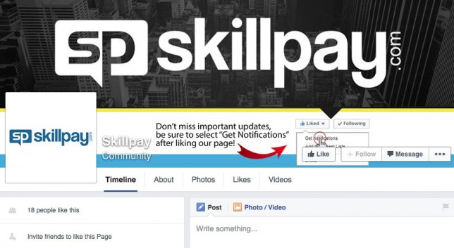 SkillPay Facebook