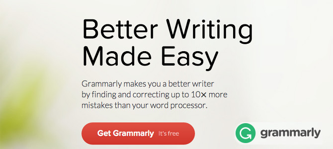 Availability Of Proofreading Software Grammarly