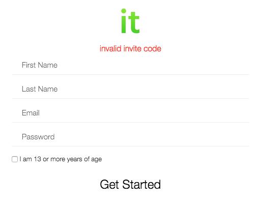 iGrow Network Marketing - it Review - Invalid Invite Code