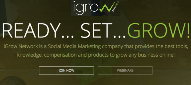 What is iGrow network marketing – Scam or Legit?