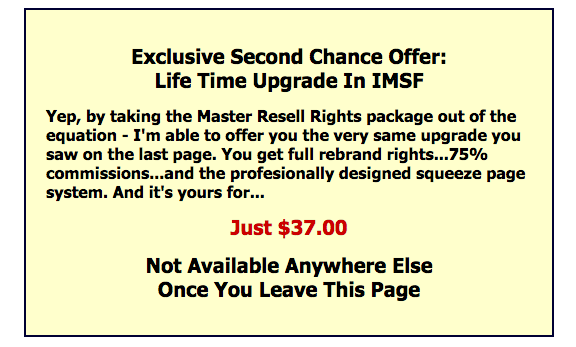 Internet Marketing Success Formula Squeeze Page Package 1