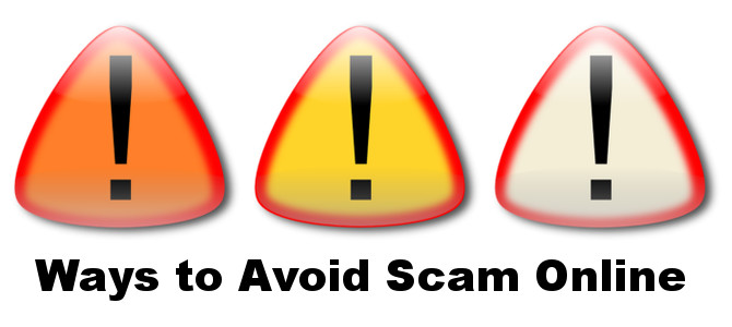 Ways to avoid scam Online – Must read!