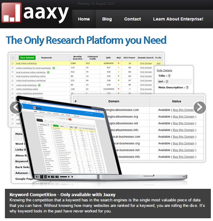 What is Keyword Research and Analysis - Jaaxy