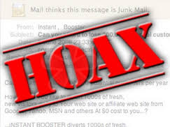 Ways to avoid scam Online - hoax emails