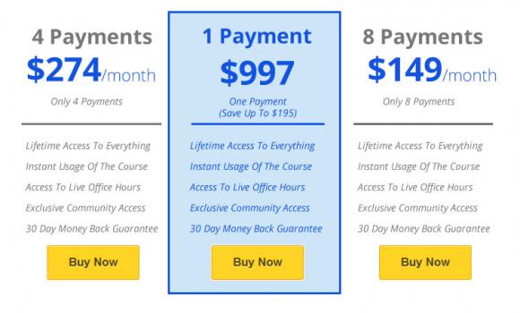 Profitable Online Store - Price Plan