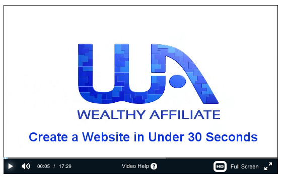 Create a Website in under 30 secs
