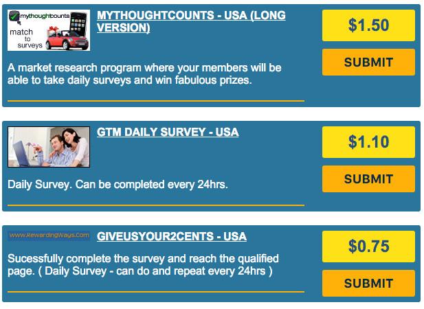 RewardingWays Review - Daily Surveys