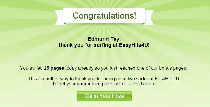 EasyHits4u - Page Prize