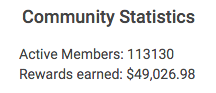 Get Paid Social Review - Community Statistic