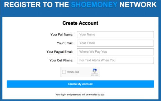 Shoemoney Network Review - register