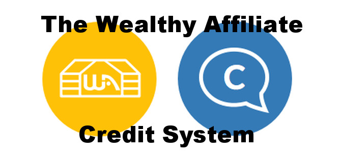 Wealthy Affiliate Credit System – Read all about it!