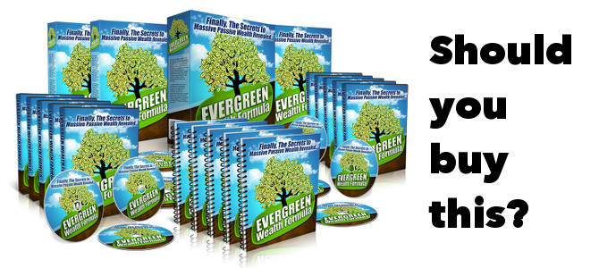 Evergreen Wealth Formula Review – Legitimate or Scam?!?