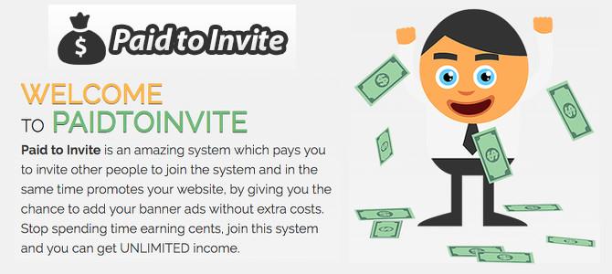Paid To Invite Review – Legitimate or Scam?!?