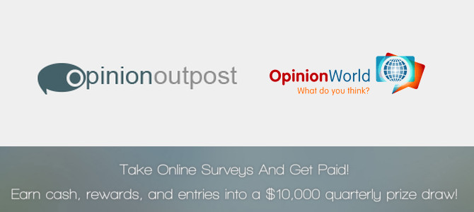 Opinion Outpost Review - Opinion World? Legit or Scam?!?
