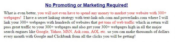 Earn Cash Yearly Review - Back Linking