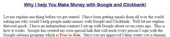 Earn Cash Yearly Review - Google Affiliate Program