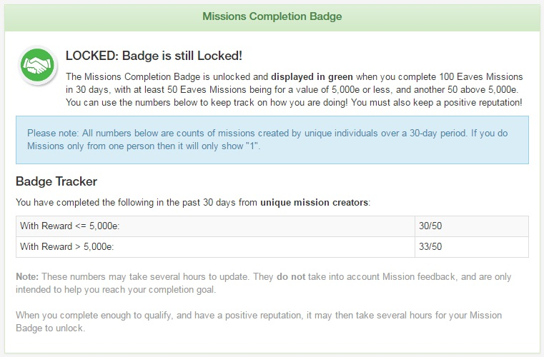 Empire Kred Review - Mission Complete Badge