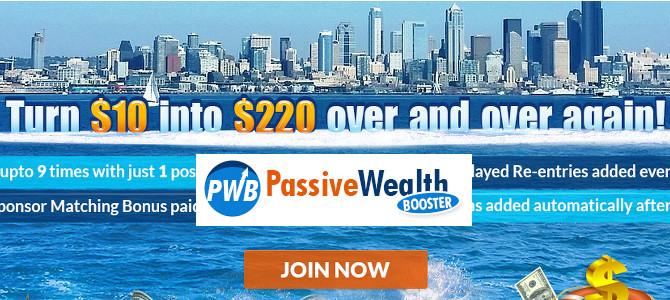 Passive Wealth Booster Review – Legitimate or Scam?!?