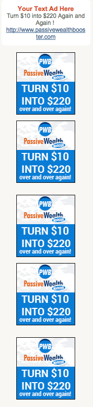 Passive Wealth Booster Review-side banners