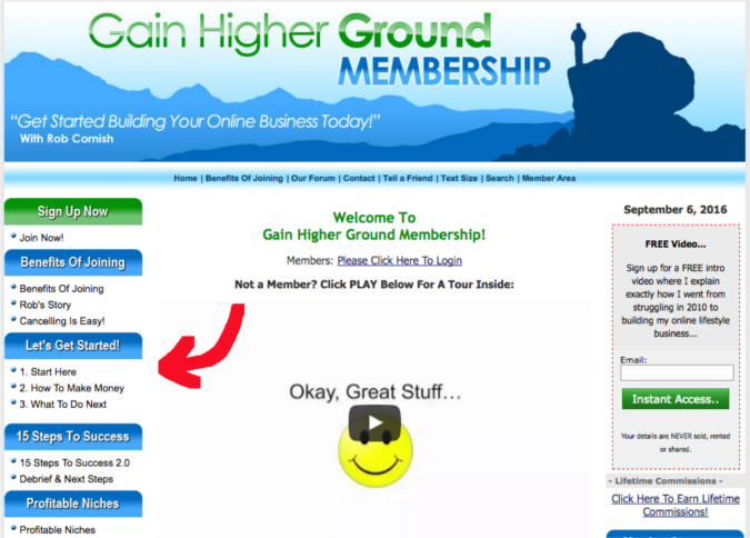 Gain Higher Ground Review-Training
