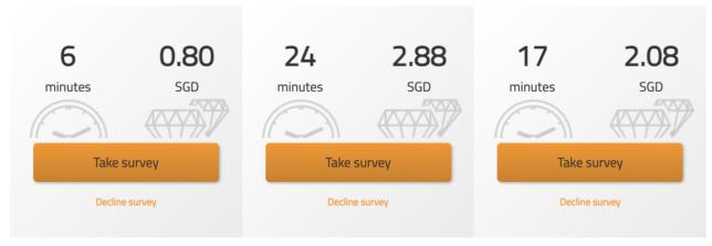 Triaba Review - Surveys