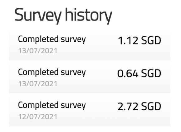 Triaba Review - Survey History